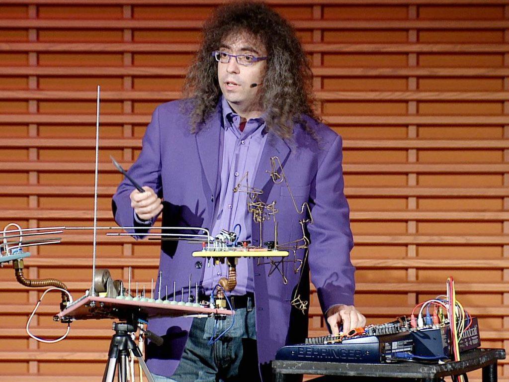 سخنرانی تد : مارک اپل باوم: دانشمند دیوانهی موسیقی