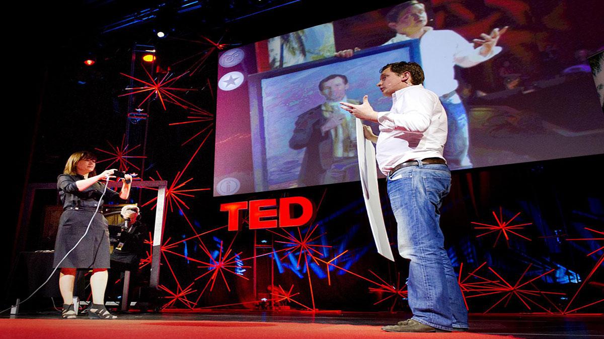 سخنرانی تد : مت میلز: تشخیص تصویری که باعث تکمیل واقعیت میشود