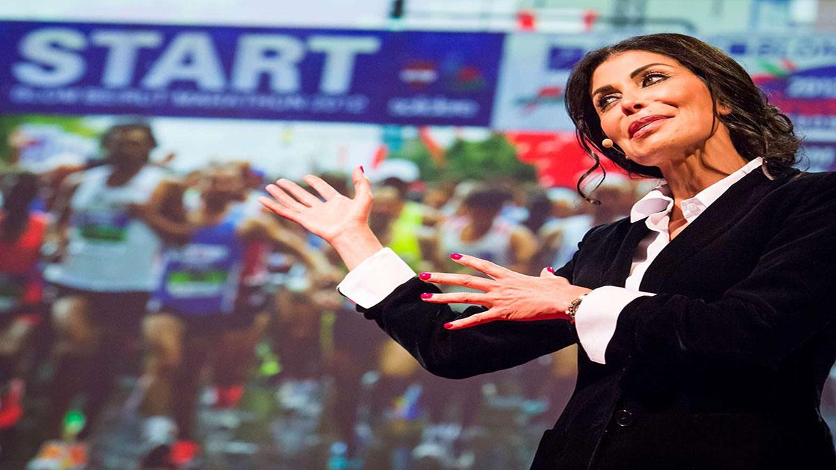 سخنرانی تد : ایجاد صلح، دو استقامت است