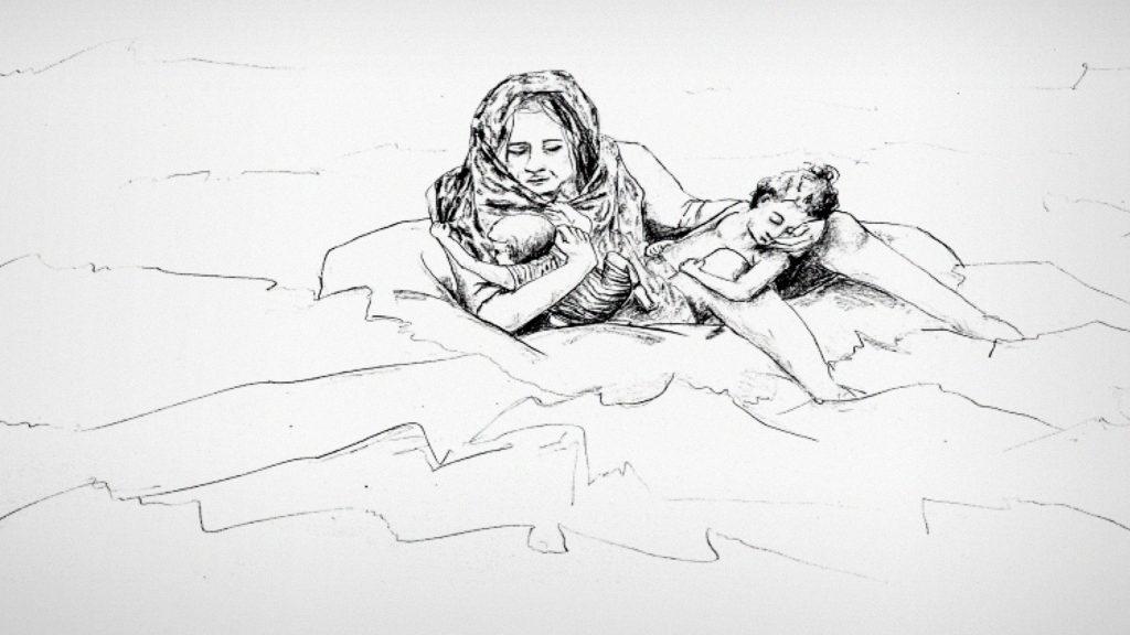 سخنرانی تد : قایقی که حامل ۵۰۰ پناهنده بود در دریا غرق شد. داستان دو بازمانده
