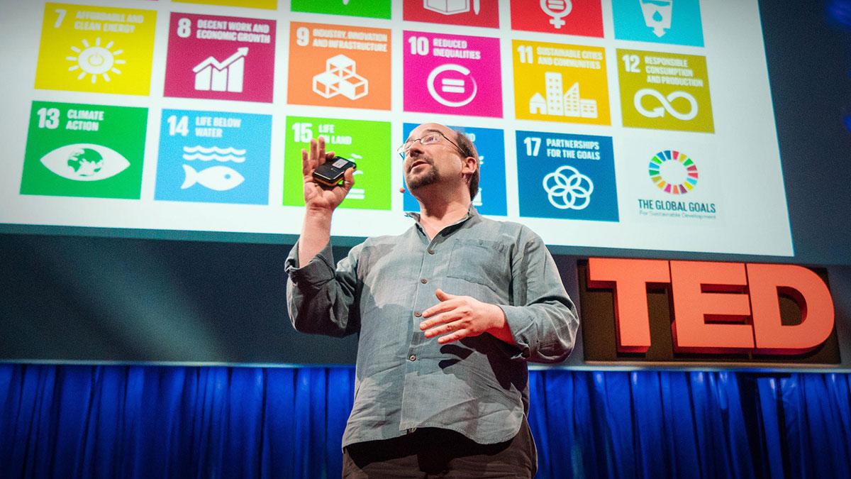 سخنرانی تد : چطور میتوانیم دنیا را تا سال ۲۰۳۰ به جای بهتری تبدیل کنیم؟
