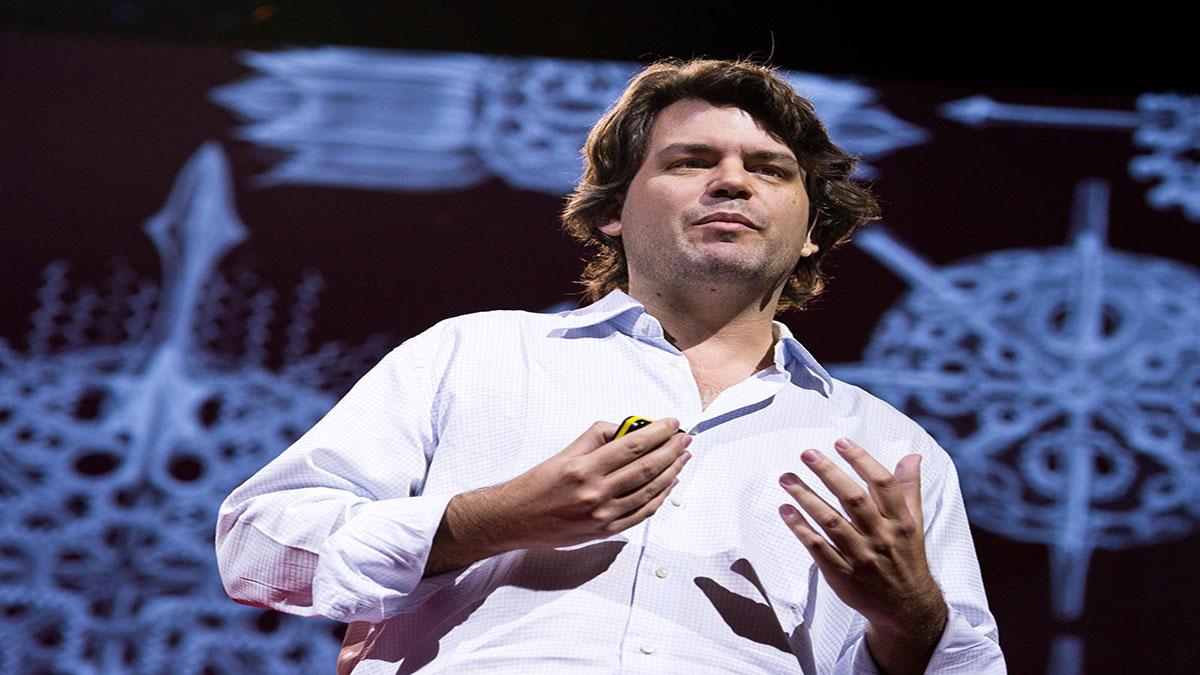 سخنرانی تد : مایکل هنس مِیِر: ساخت شکلهای غیر قابل تصور