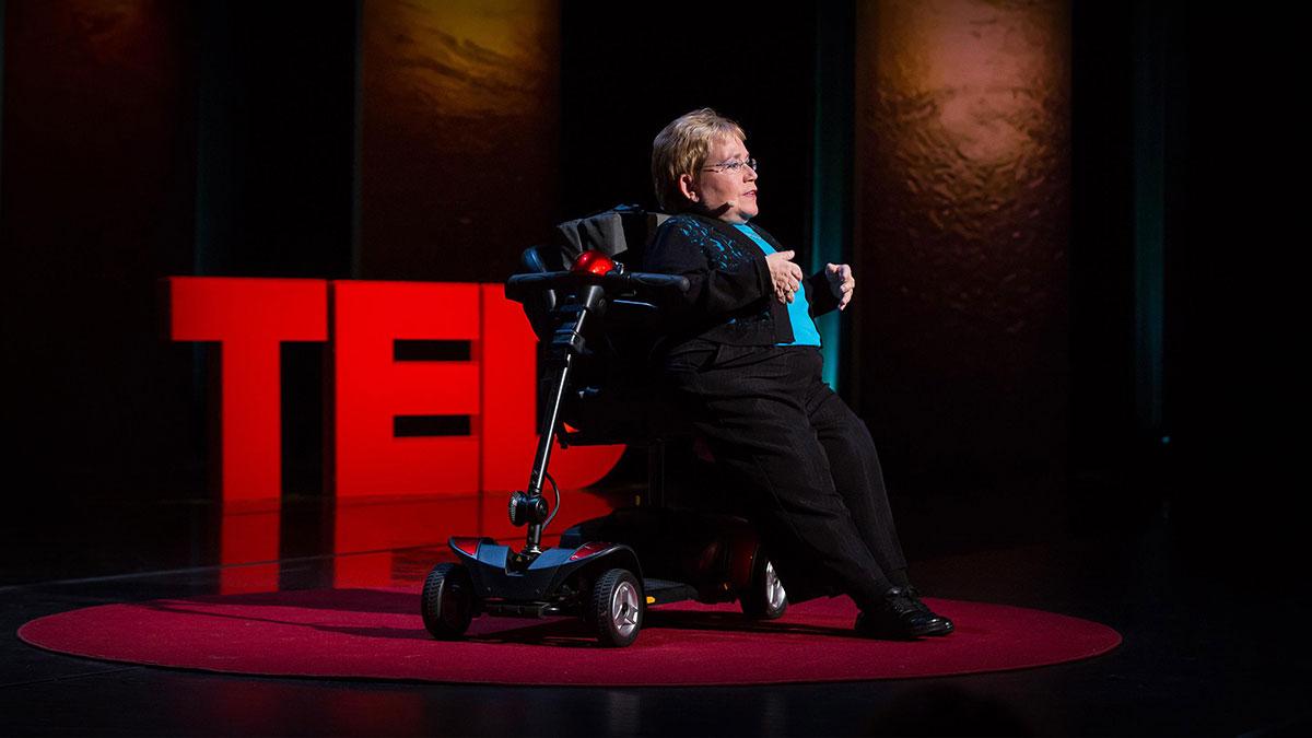 سخنرانی تد : تقاضای کمک توانایی است، نه نقطه ضعف