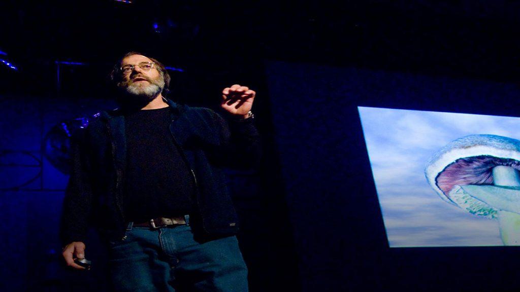 سخنرانی تد : از شش راه قارچ میتواند جهان را نجات دهد.