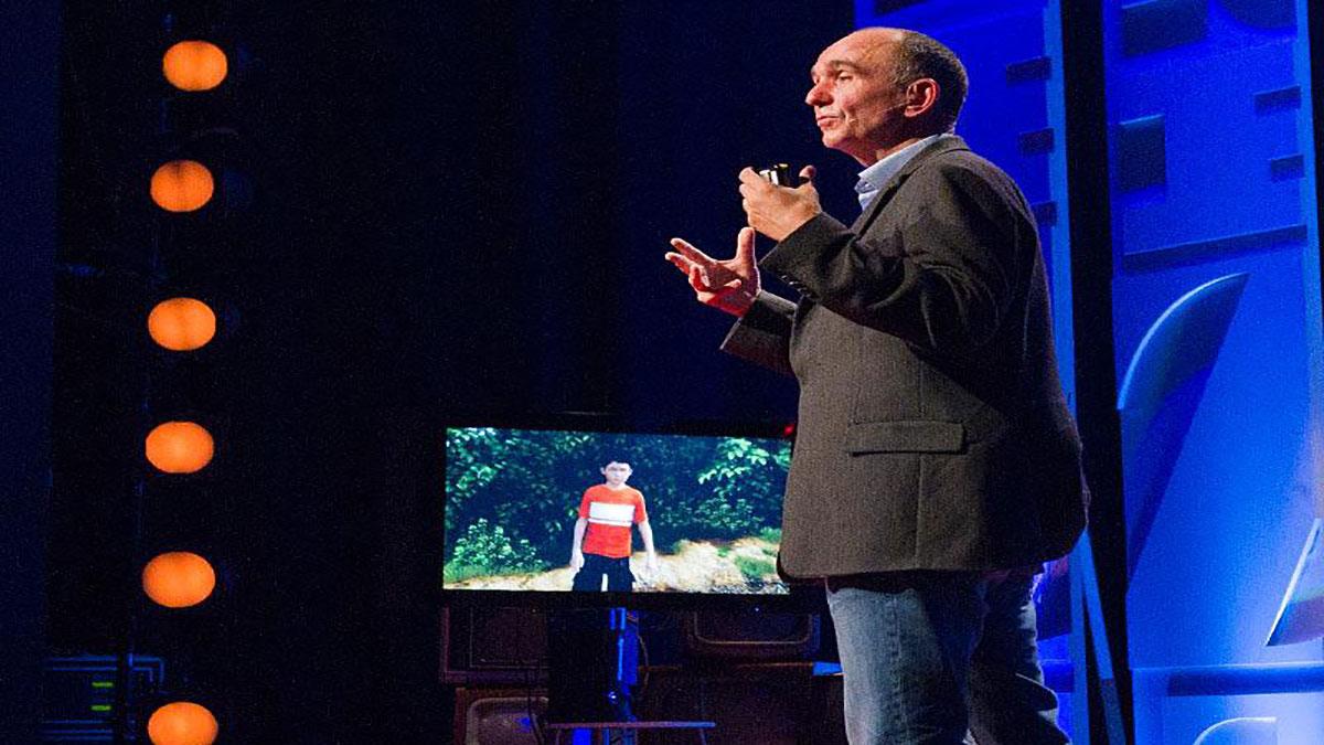 سخنرانی تد : با میلو ملاقات کنید، پسر مجازی