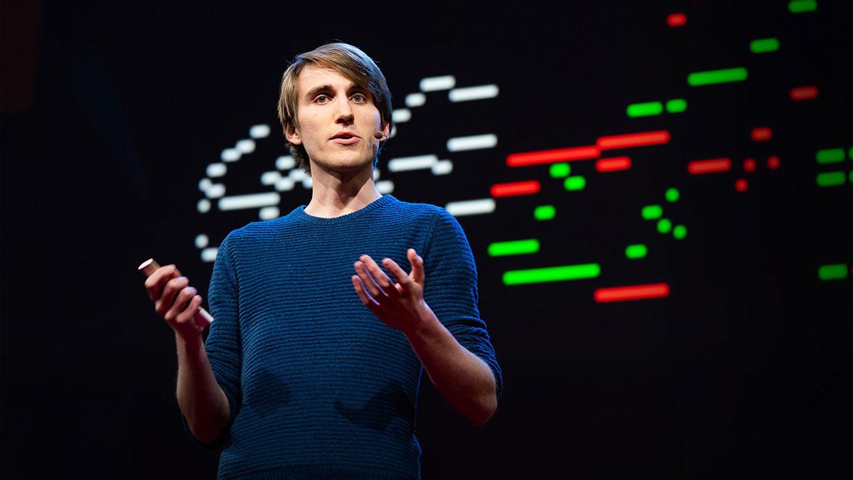 سخنرانی تد : چطور هوش مصنوعی میتواند آهنگی شخصی برای زندگی شما بسازد