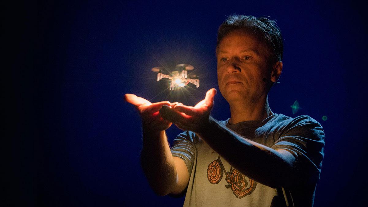 سخنرانی تد : دیدار با ماشینهای پرنده خیره کننده آینده