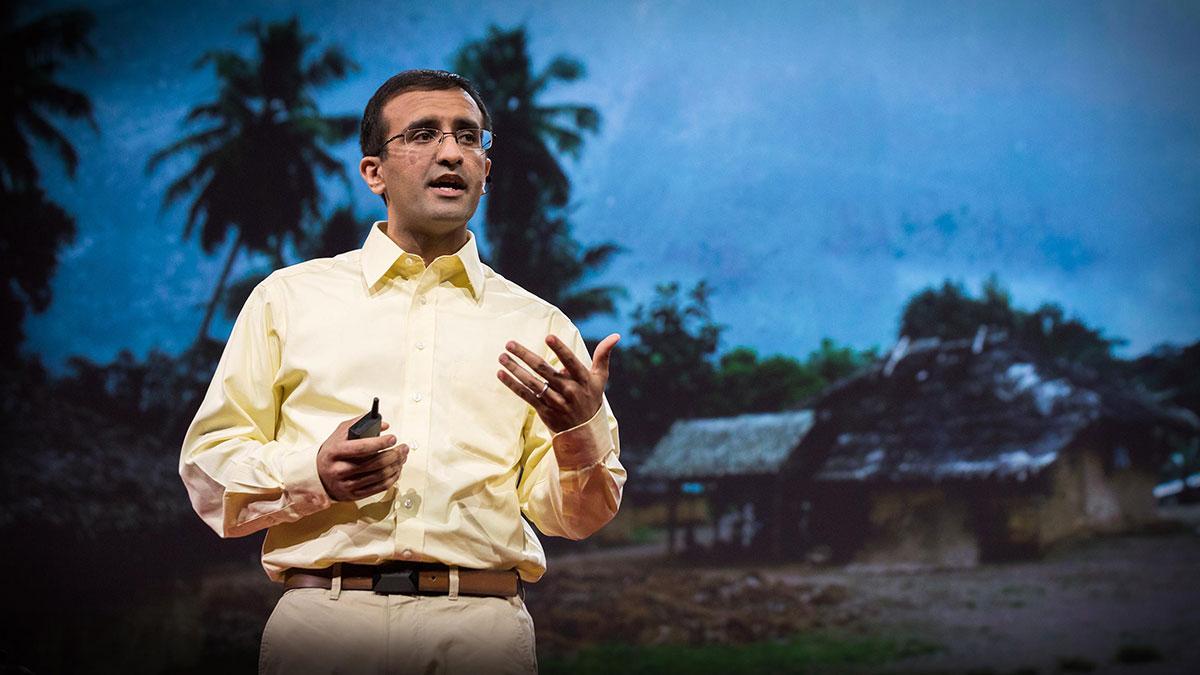 سخنرانی تد : هیچ کس نباید به دلیل دوری از پزشک بمیرد