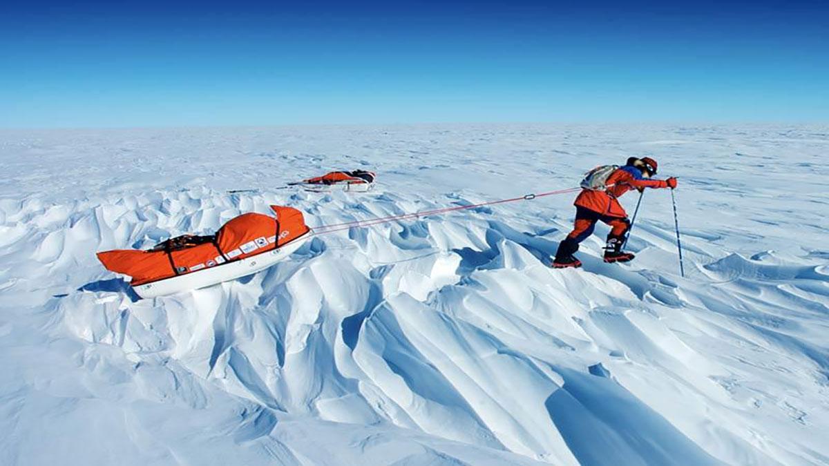 سخنرانی تد : ری زاهاب سفری پر زحمت به قطب جنوب می کتد