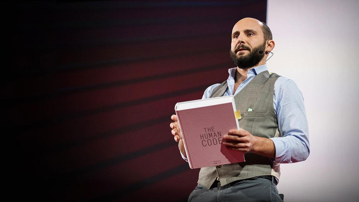 سخنرانی تد : چگونگی خواندن نقشه ژنتیکی و تولید انسان