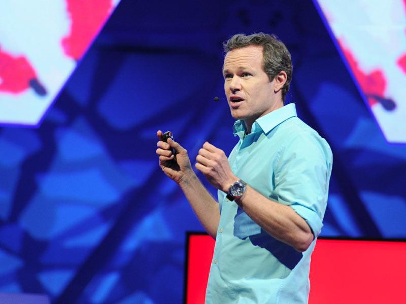 سخنرانی تد : ریوز: بازسازی بازی دانشنامه