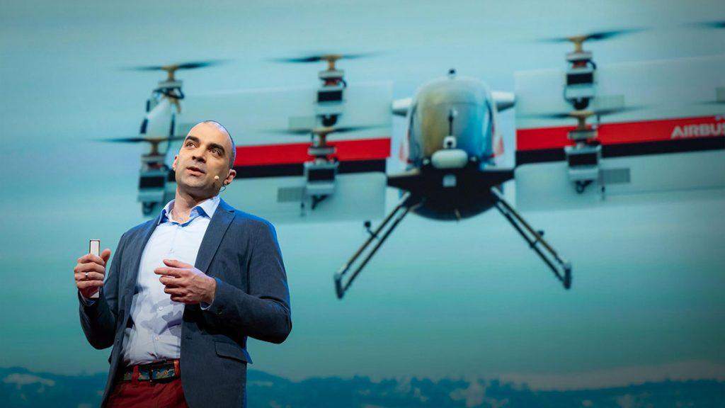 سخنرانی تد : تاکسیهای هوایی خودران مسافرتهای شما را تغییر میدهند