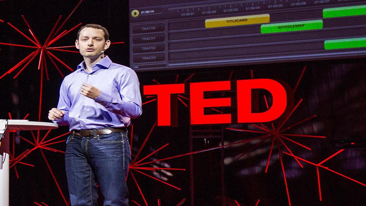 سخنرانی تد : رایان مرکلی: ویدئو آنلاین – حاشیه نویسی شده، باز ترکیب شده و گسترش یافته
