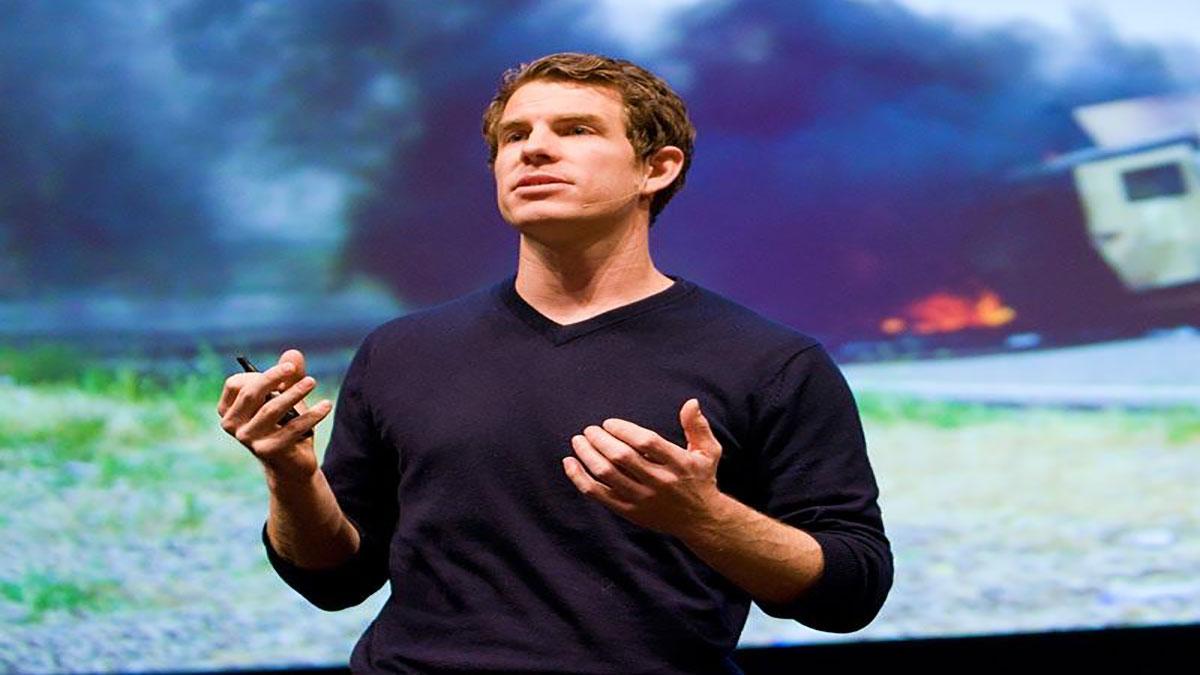 """سخنرانی تد : """" شان گورلی """" در منطق ریاضی جنگ"""