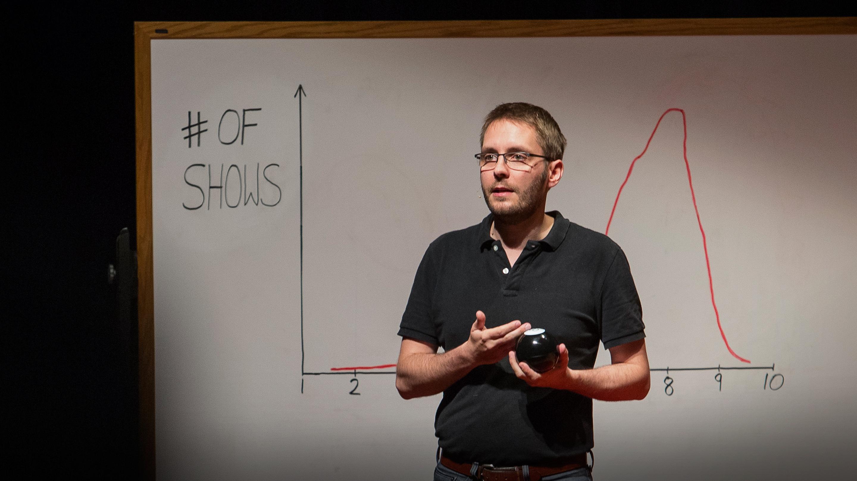 سخنرانی تد : چگونه از اطلاعات برای ساختن برنامههای تلویزونی موفق استفاده کنیم