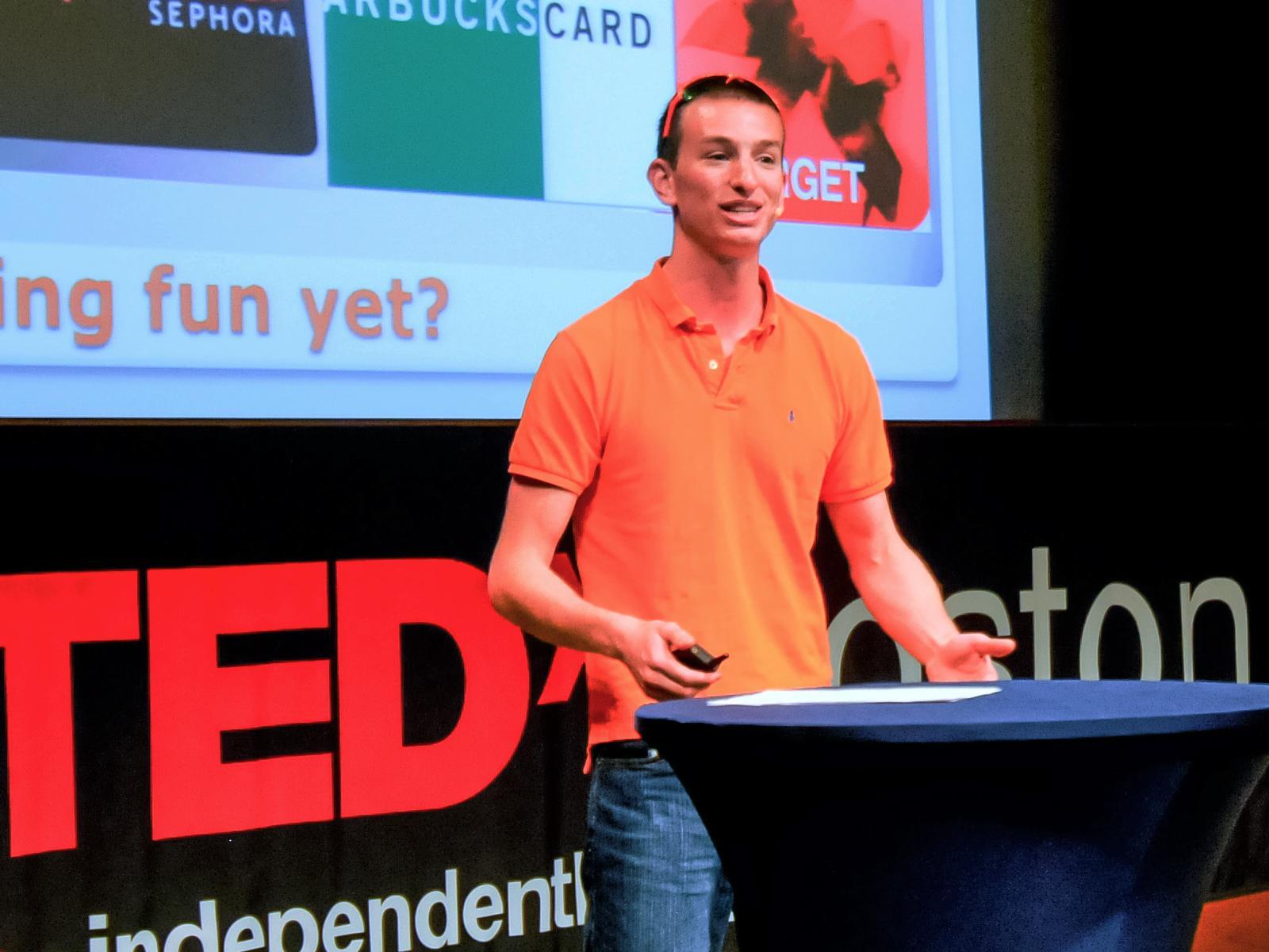 سخنرانی تد : لایه ی بازی در بالای دنیا