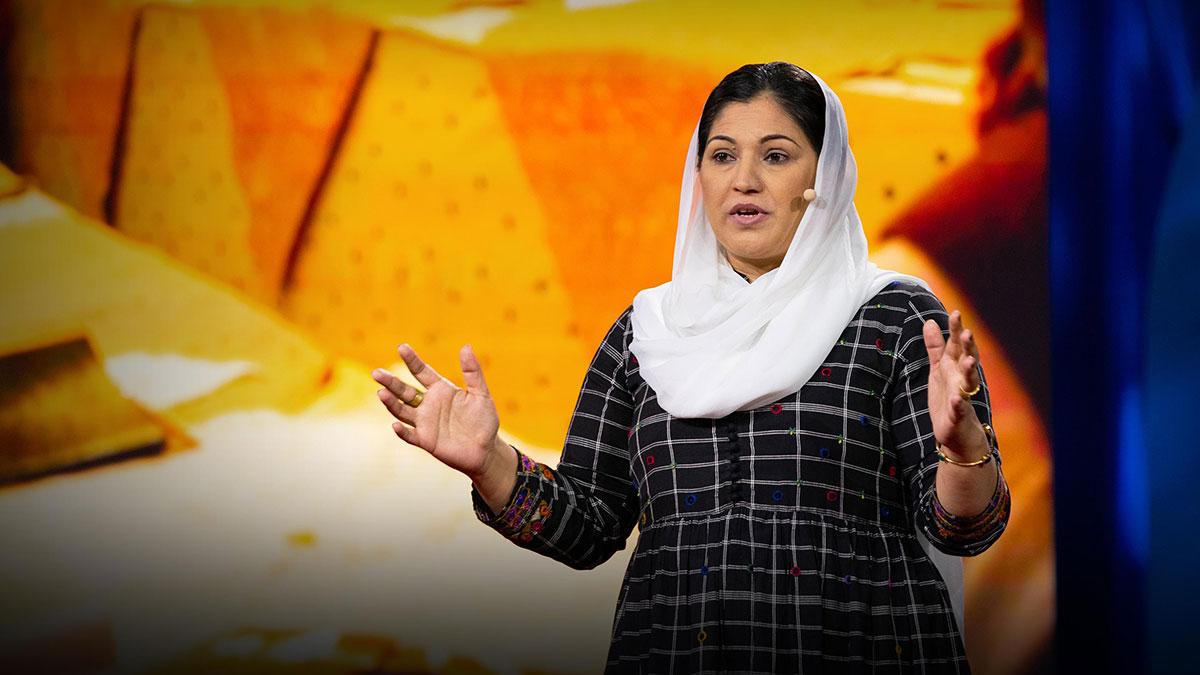 سخنرانی تد : چطور زنان در پاکستان تغییر سیاسی خلق میکنند