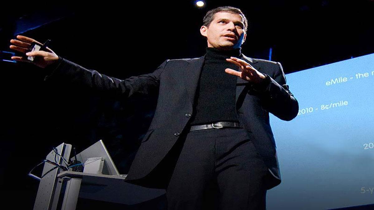 سخنرانی تد : یک اکوسیستمِ جدید برای خودروهای برقی