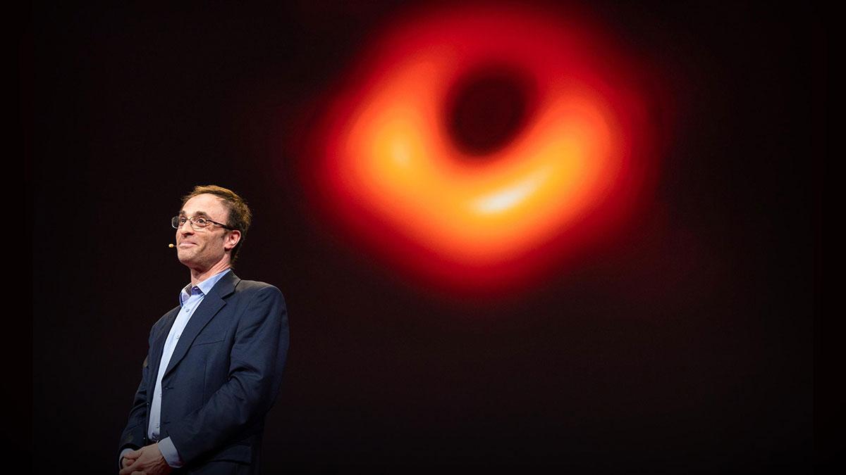 سخنرانی تد : در مورد عکس سیاهچالهای که تاریخساز شد