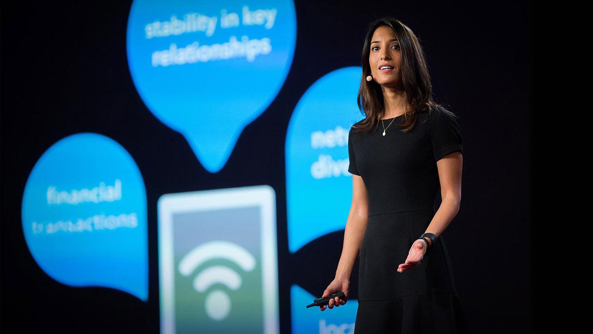 سخنرانی تد : یک وام هوشمند برای کسانی که (هنوز) سابقه اعتباری ندارند