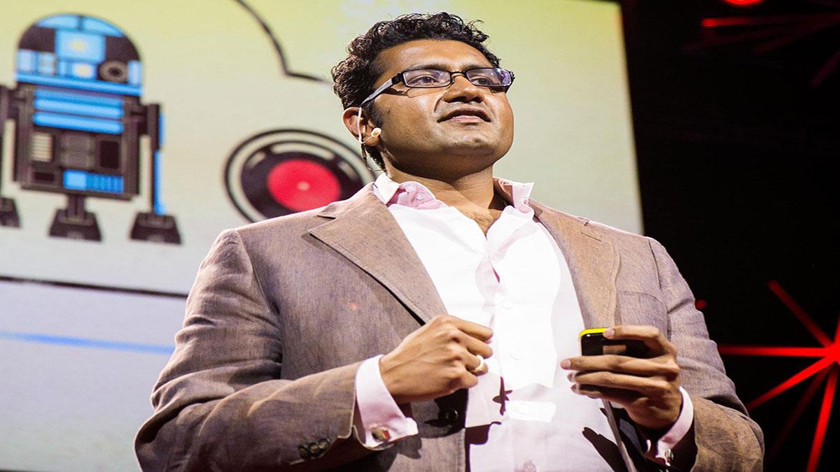 سخنرانی تد : شیام سانکار: عصر همکاری انسان و کامپیوتر