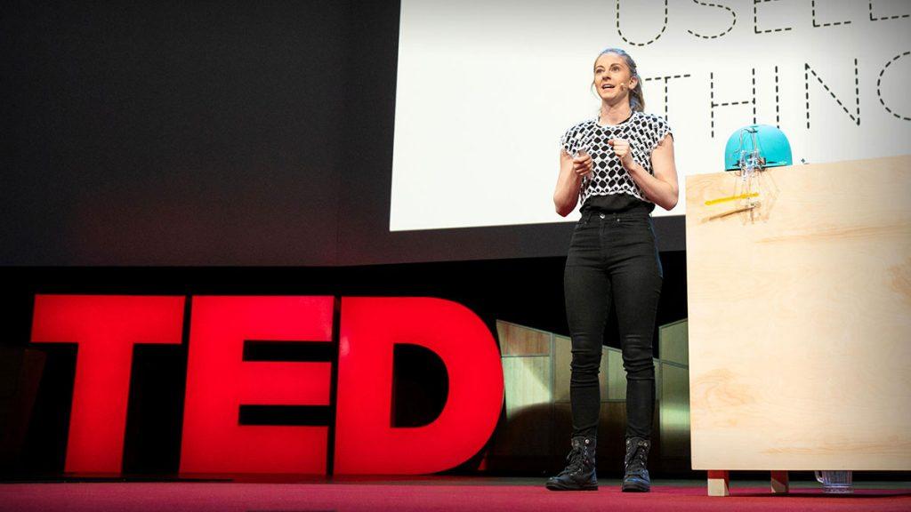 سخنرانی تد : چرا باید چیزهای بیمصرف بسازیم