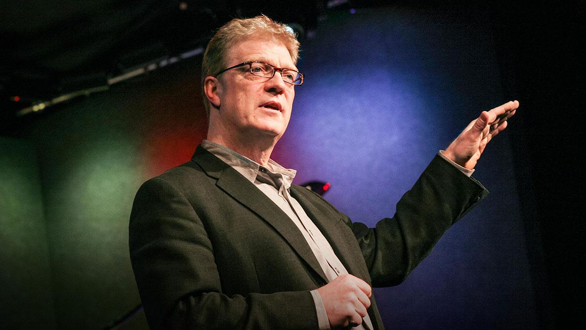 سخنرانی تد : Ken Robinson می گويد مدارس باعث مرگ خلاقيت می شوند.