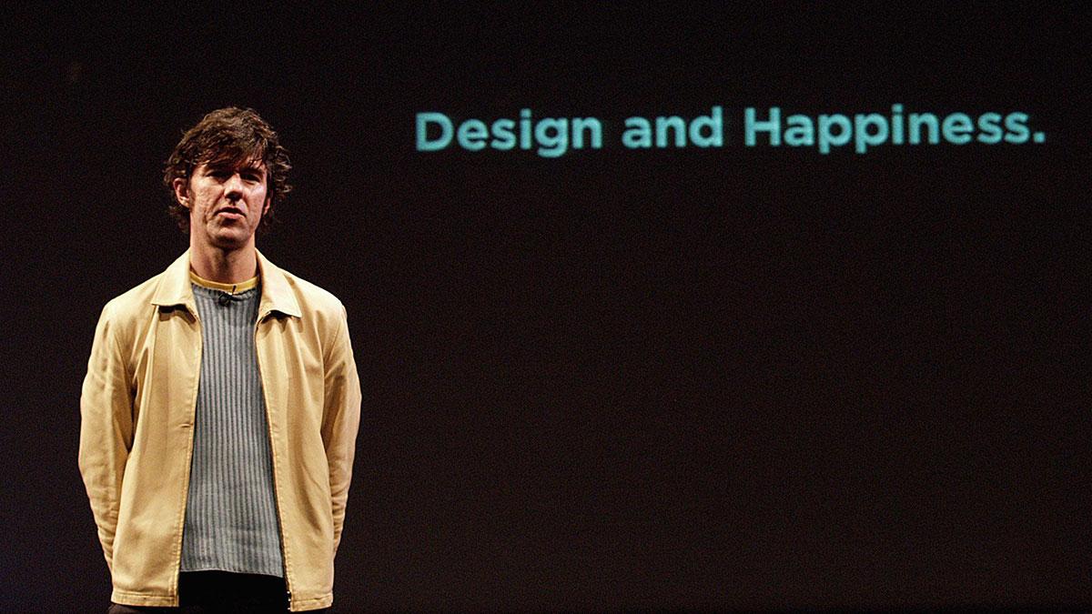 سخنرانی تد : استفان سگمیستر با ما درباره طراحی شاد صحبت می کند