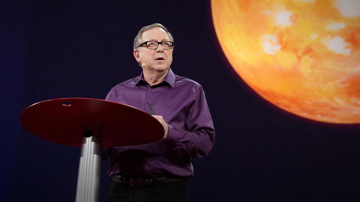 سخنرانی تد : کودکان شما ممکن است در مریخ زندگی کنند. و این شرح زندگیشان است