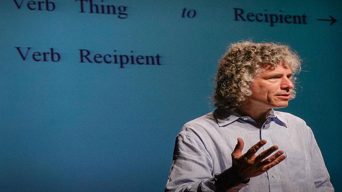 سخنرانی تد : صحبت های استیون پینکر در باره  زبان و تفکر