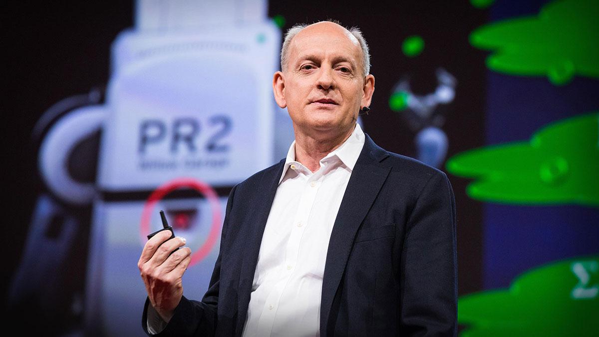 سخنرانی تد : چگونه هوش مصنوعی ما را تبدیل به مردمانی بهتر میکند