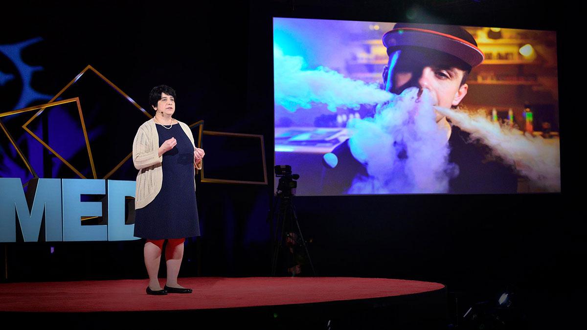 سخنرانی تد : آنچه که باید درباره قلیان-الکترونیکی (ویپینگ) و سیگار-الکترونیکی (ای-سیگارت)  بدانید