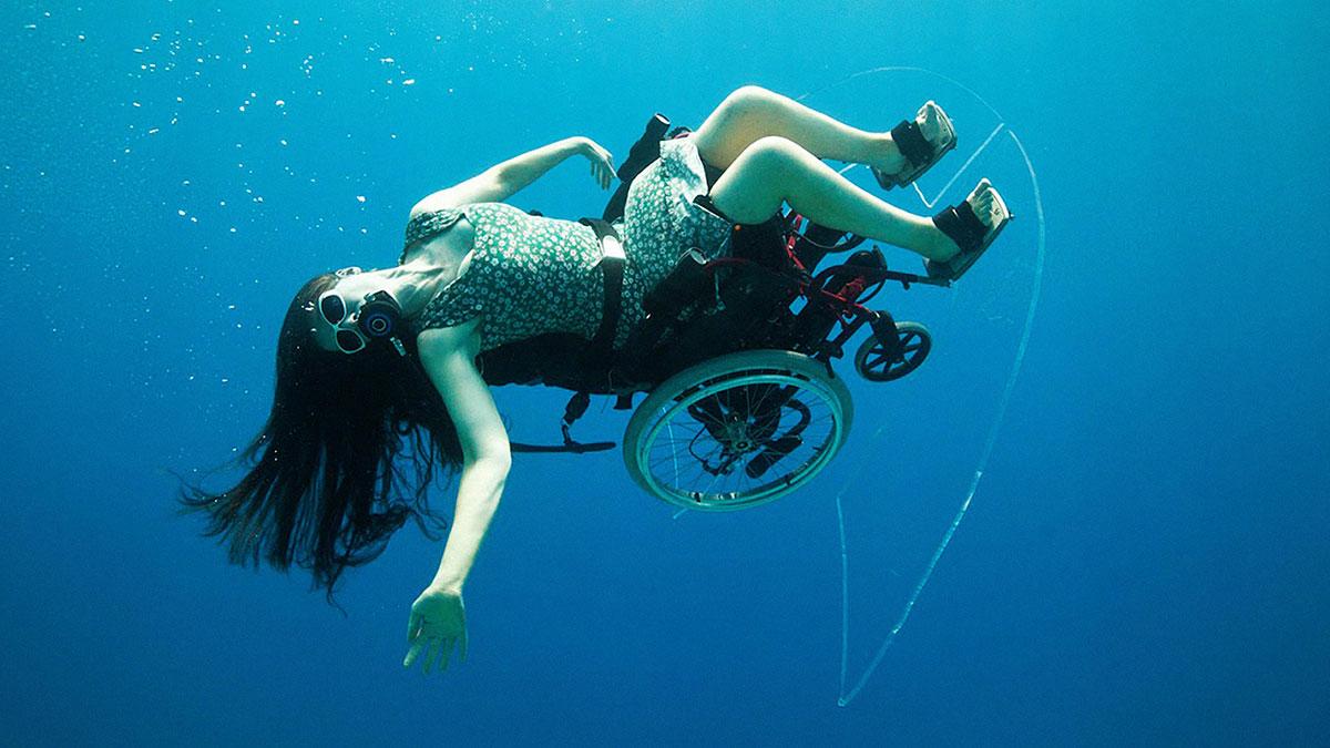 سخنرانی تد : سو آستین: غواصی در دریا… با ویلچر