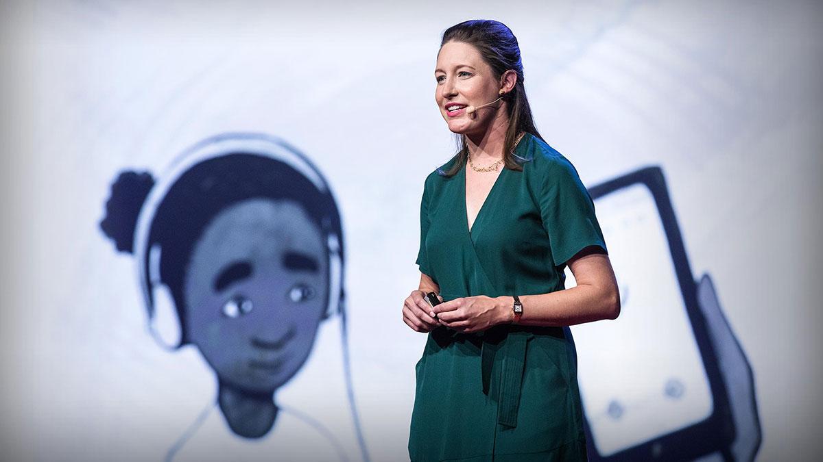 سخنرانی تد : این آزمون ساده کمک میکند تا کودکان بهتر بشنوند