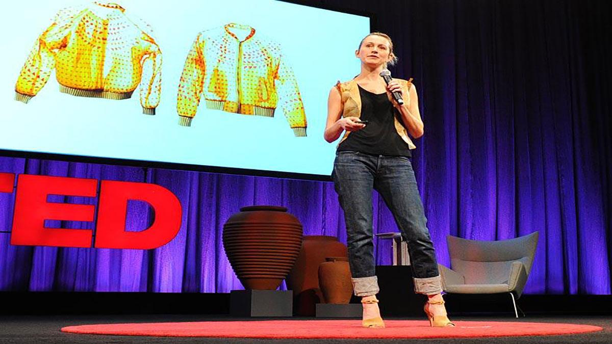 سخنرانی تد : سوزان لي : پرورش  پوشاک خودتان