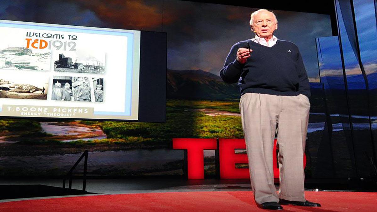 سخنرانی تد : تی بون پیکن: بیاید انرژی را  تبدیل کنیم — با گاز طبیعی
