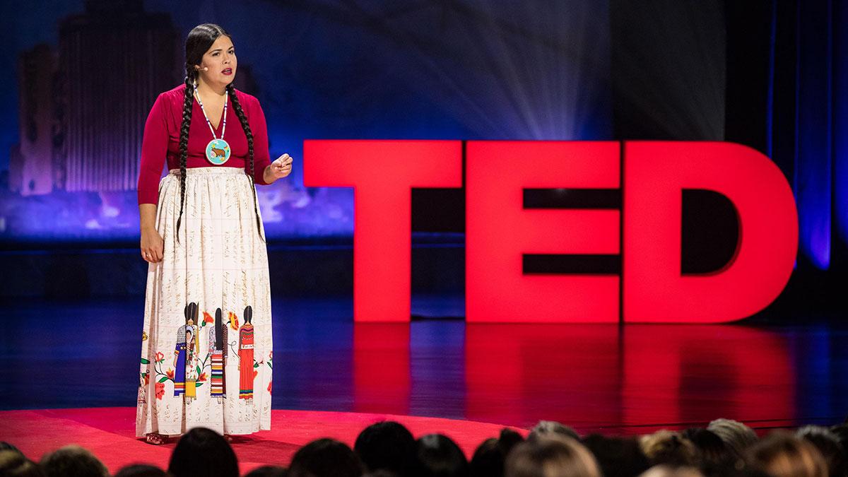 سخنرانی تد : مقاومت سنگ ایستاده و مبارزه ما برای حقوق بومی