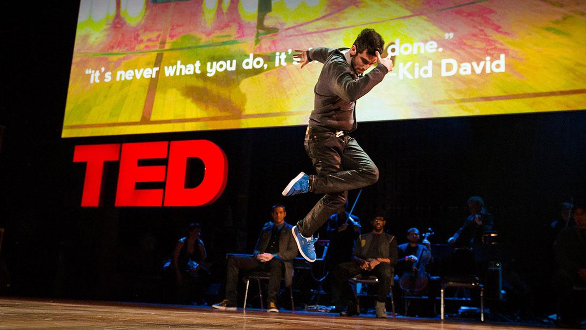 سخنرانی تد : در عصر اینترنت، رقص تکامل مییابد …