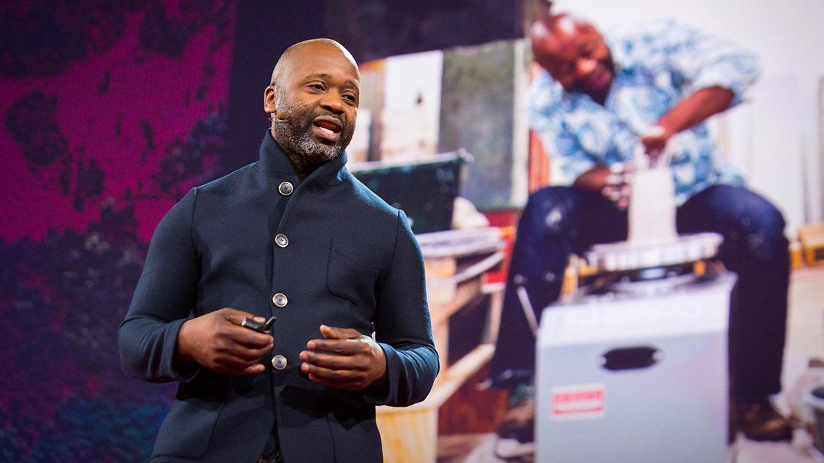 سخنرانی تد : چگونه یک محله احیا کنیم: با تخیل، زیبایی و هنر