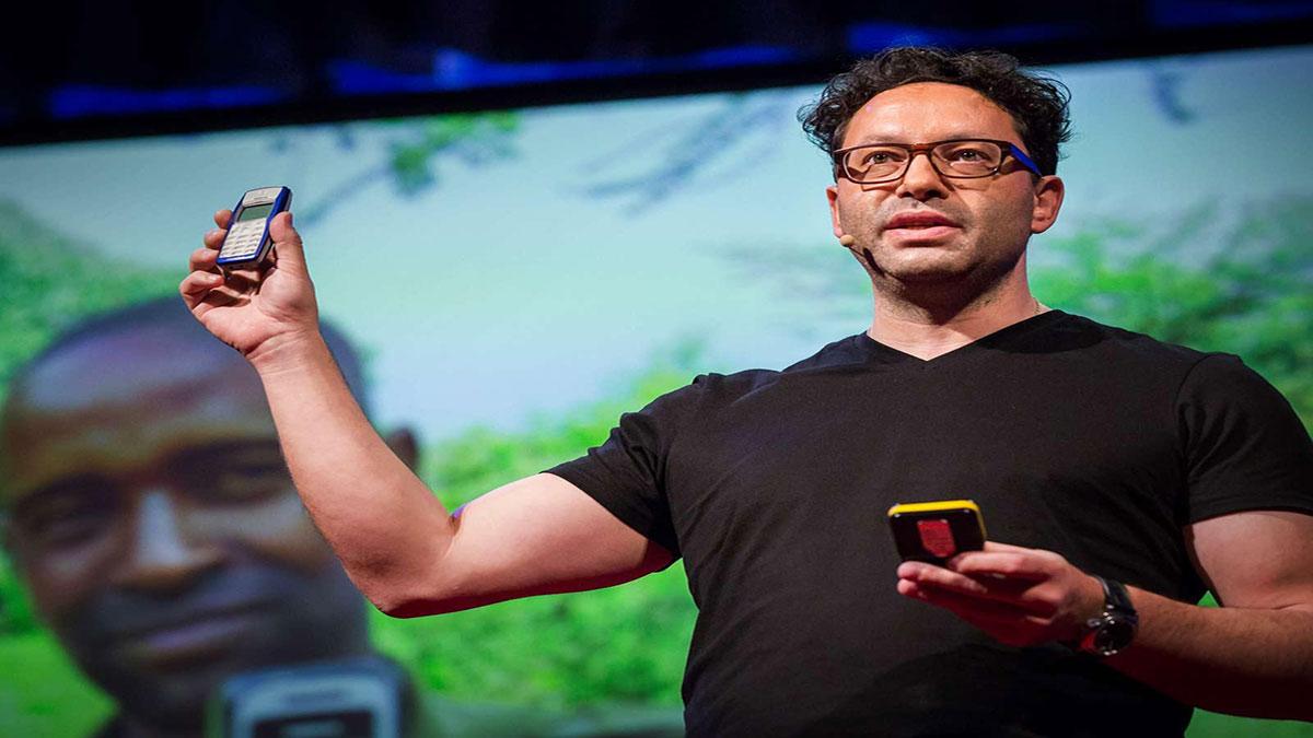 سخنرانی تد : برای این کار احتیاج به اپلیکیشن ندارید
