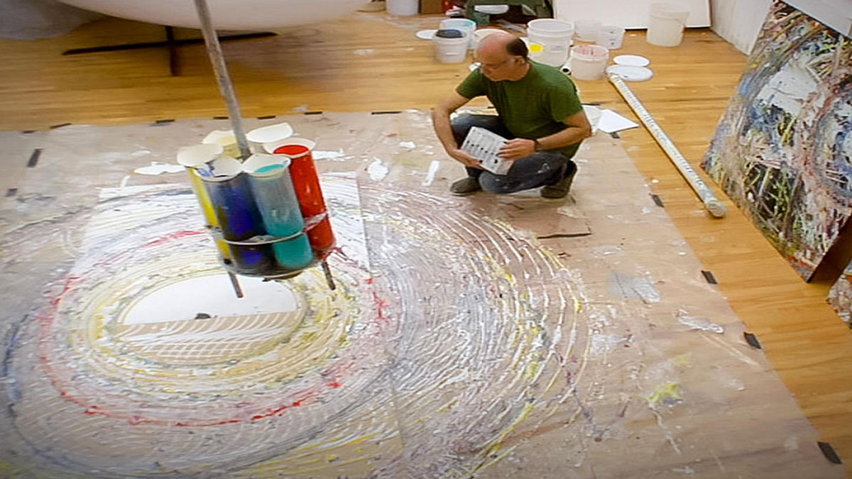 سخنرانی تد : تام شَنِن: نقاش و پاندول
