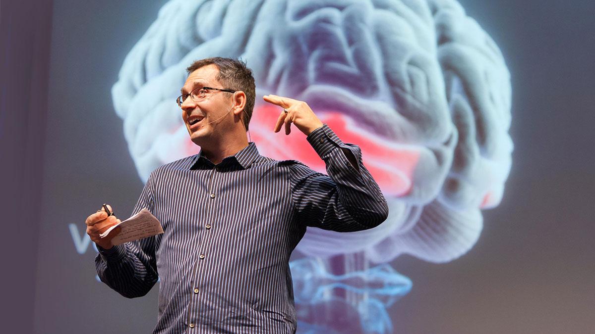 سخنرانی تد : تام وویک:سه طریقه ایجاد مفاهیم توسط مغز