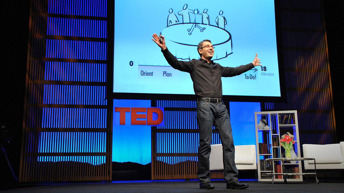 سخنرانی تد : تام وژه: اگر ميخواهيد یک برج بسازيد، ابتدا یک تیم تشكيل بدهيد.