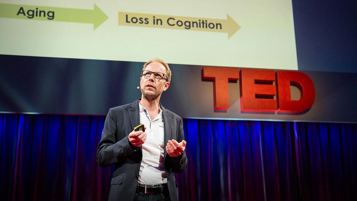 سخنرانی تد : چگونه خونِ جوان ممکن است به برعکس شدن روند سالخوردگی کمک کند. بله، واقعاً
