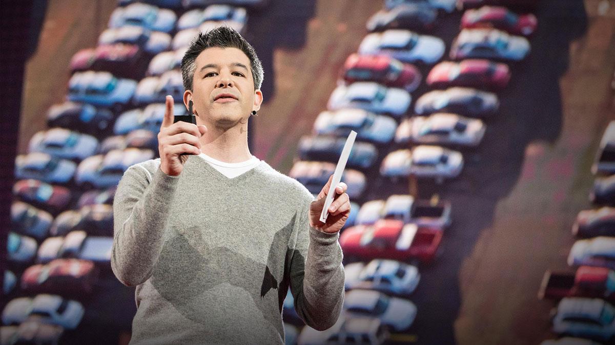 """سخنرانی تد : برنامهی """"اوبر"""" برای قرار دادن مردم بیشتر در خودروهای کمتر"""
