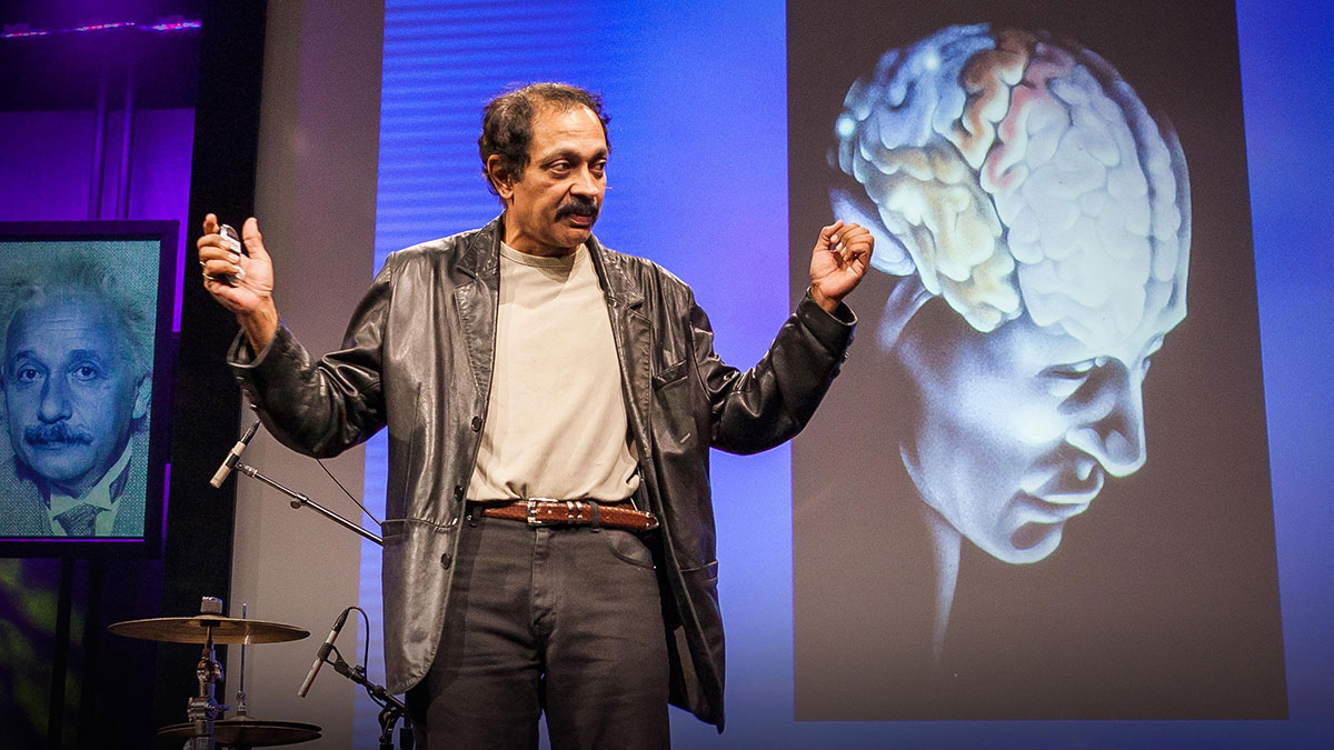 سخنرانی تد : ویلایانور راماچاندران در مورد ذهن میگوید