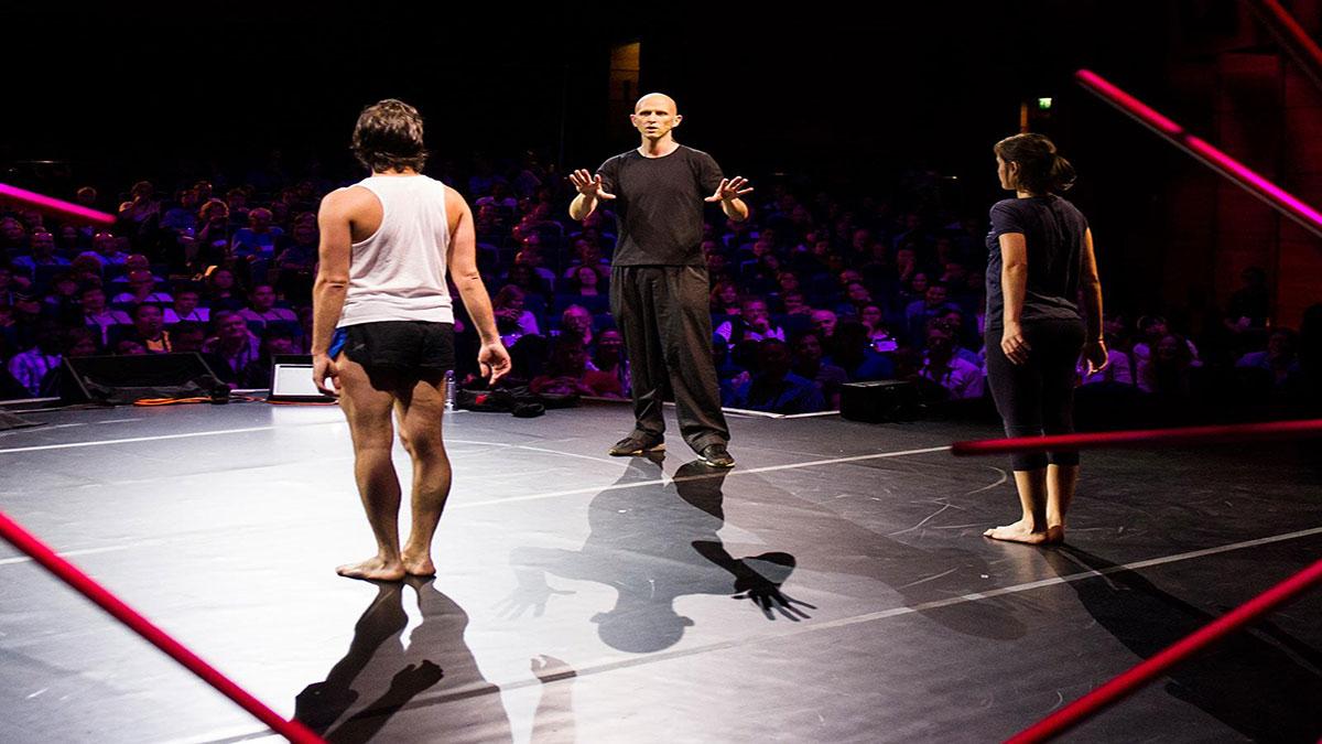 سخنرانی تد : وین مک گرگور: پردازش بلادرنگِ خلاقانهی یک رقصآرا