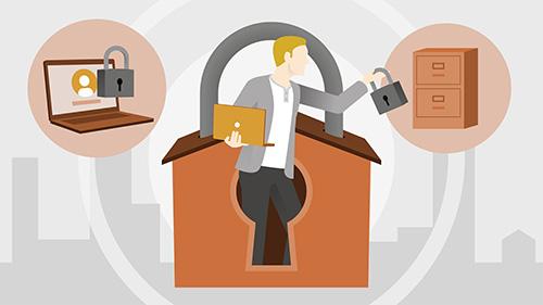 امنیت دفتر کار درخانه شما
