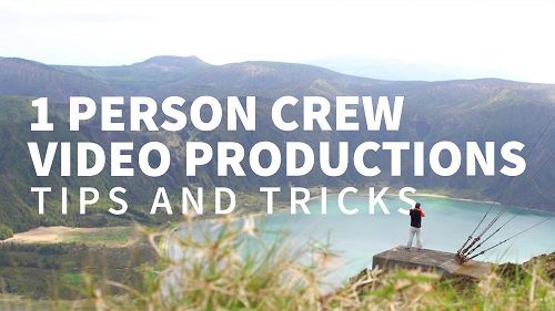 آموزش :نکات و ترفندهای  مربوط به تولید ویدیوی گروه کاری یک نفره