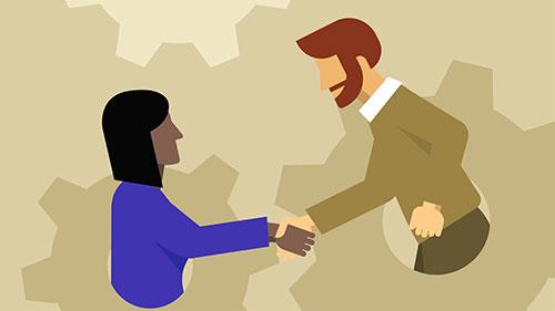 آموزش ایجاد روابط خوب با مدیران ، کارآفرینان و افراد برجسته جامعه